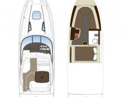 Sea Ray Sundancer 265 Europe Vorschaubild 12